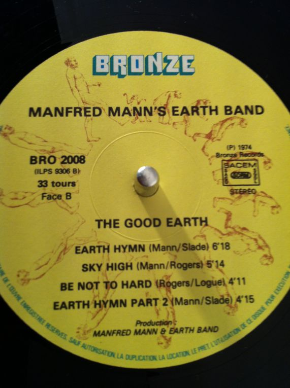 Manfred Mann's Earth Band &quot&#x3B;The Good Earth&quot&#x3B; Vintage Greenwashing.