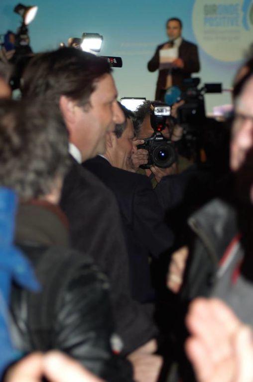 Réunion Publique entre-deux tours Gironde Positive Salle Bellegrave avec Alain Juppé - François Fillon - Yves Jego - Eddie Puyjalon et les candidats de Gironde Positive