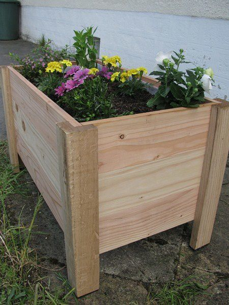 je vous propose ce mini chantier tant la conception est rapide - Fabriquer Une Jardiniere Avec Des Palettes