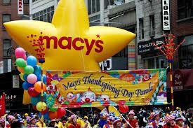 Quelques clichés de la Thanksgiving Macy's Parade 2014
