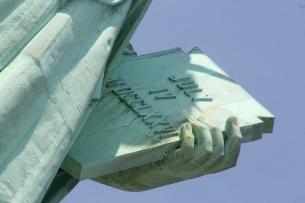 A few pics of/from the Statue of Liberty