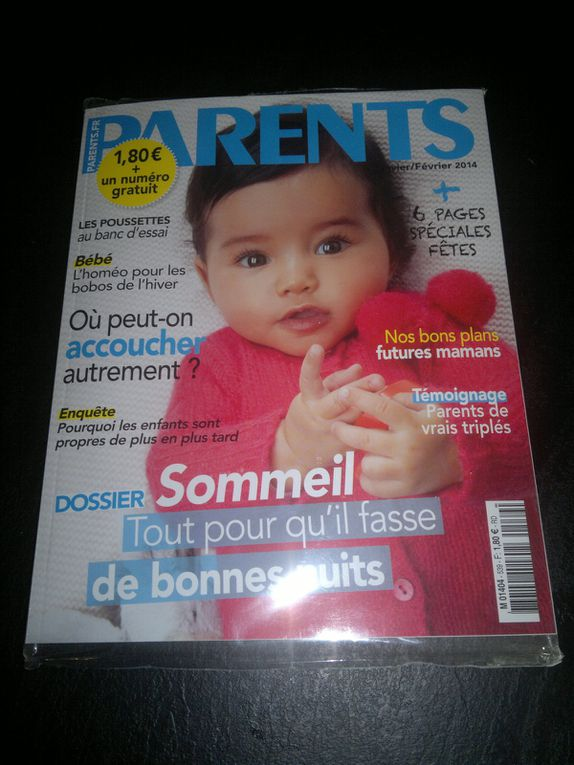 "Contenu de la P'tit Lou édition ""Parents"""
