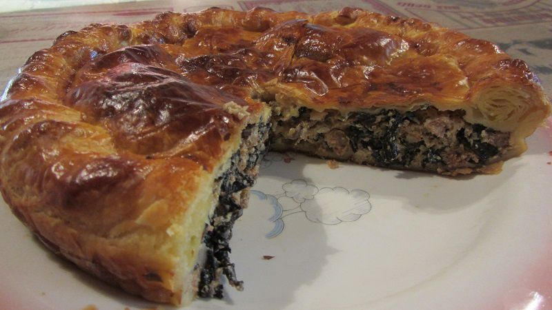 Tourte à l'accent basque