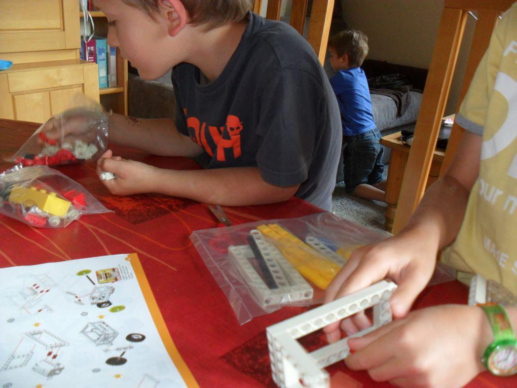 1ere étape : Fabrication de la pelleteuse.