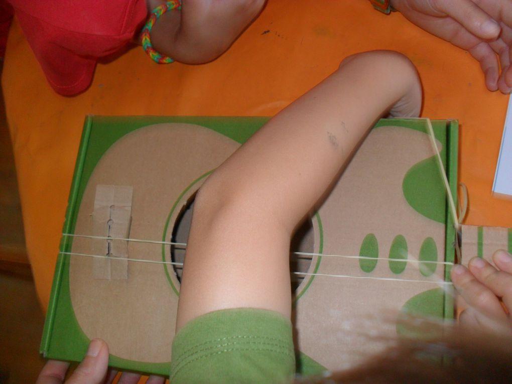 Fabriquer une guitare...