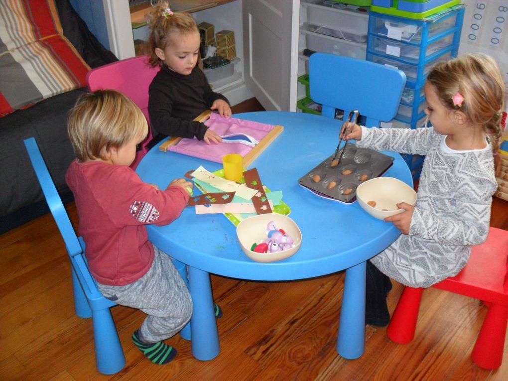 Atelier Montessori 3/6 ans (1ere partie)