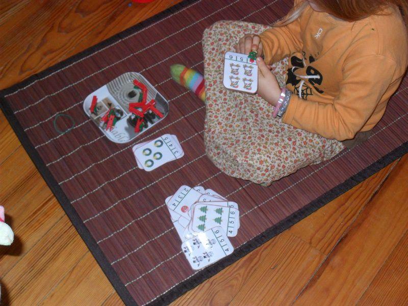 Ateliers Montessori 3/6 ans des mois de novembre et décembre (suite)