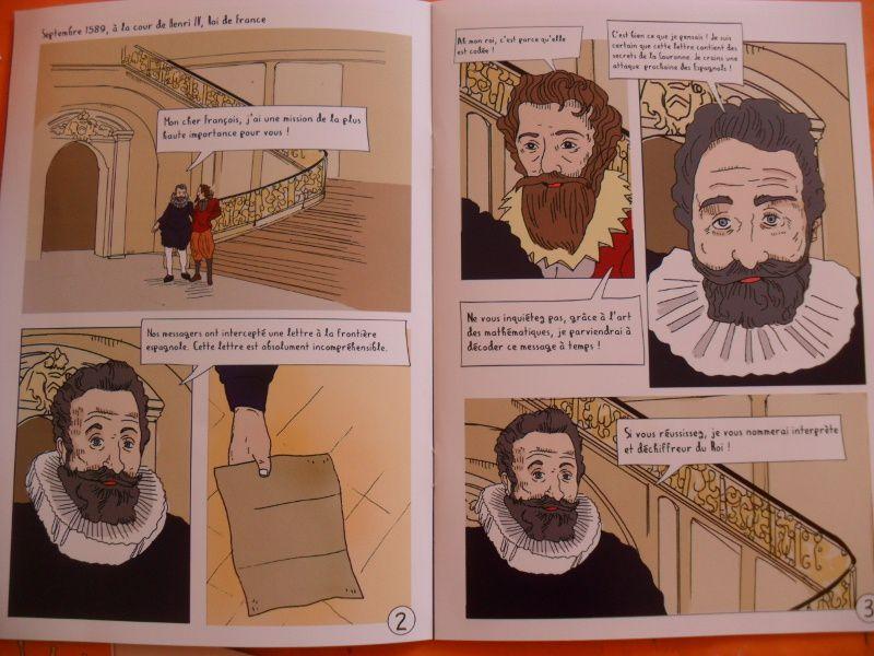 Lire l'histoire de François Viète, mathématicien du 16è siècle.