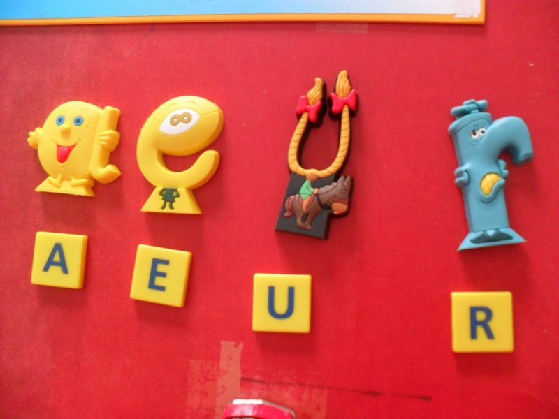Les alphas et le scrabble junior