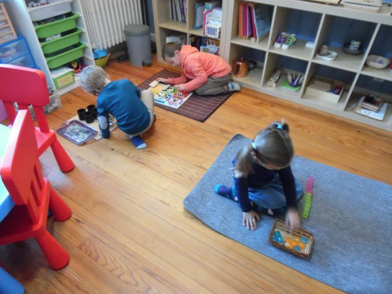 Stage Montessori 3/6 ans : l'automne