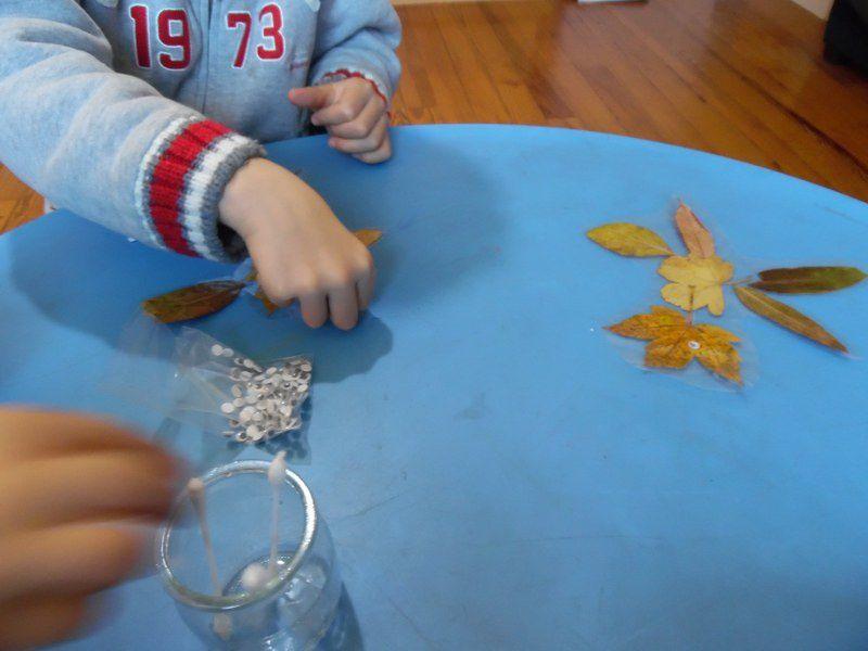 Stage Montessori 3/6 ans, l'automne (5)