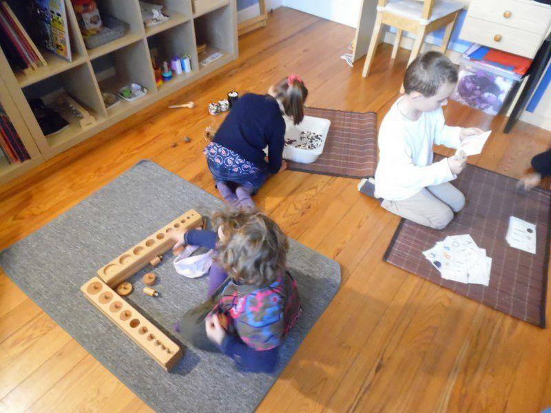 Des enfants concentrés !