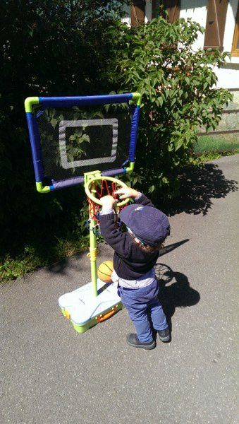 Un futur basketteur !