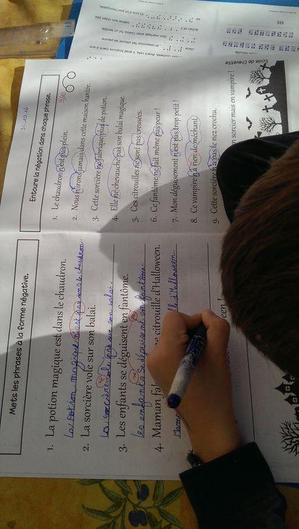 Des fiches d'exercices de français : ordre alphabétique, grammaire, lecture.