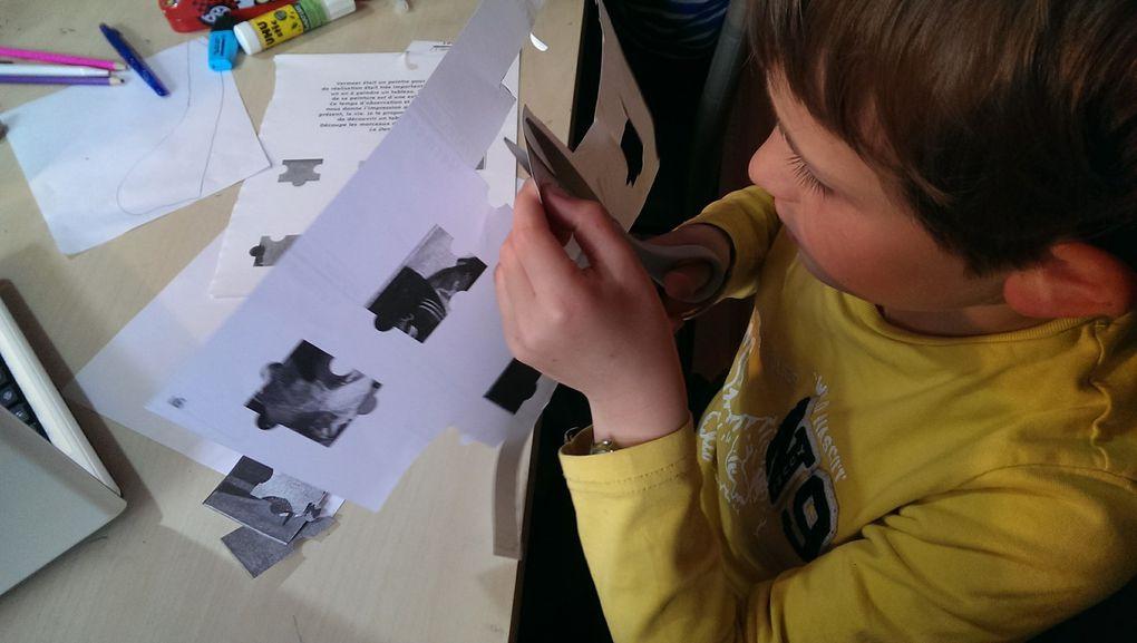 Créer avec Vermeer : reconstituer les oeuvres, labyrinthes, énigmes, coloriages, les enfants sont actifs dans la découverte des oeuvres !
