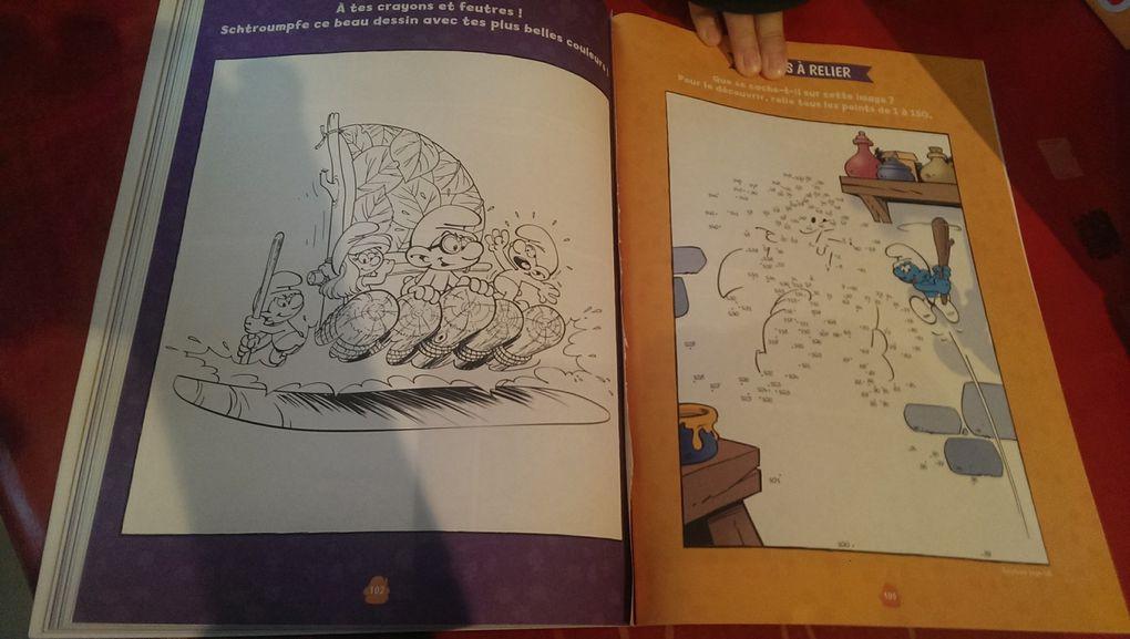 Des livres d'activités sympas