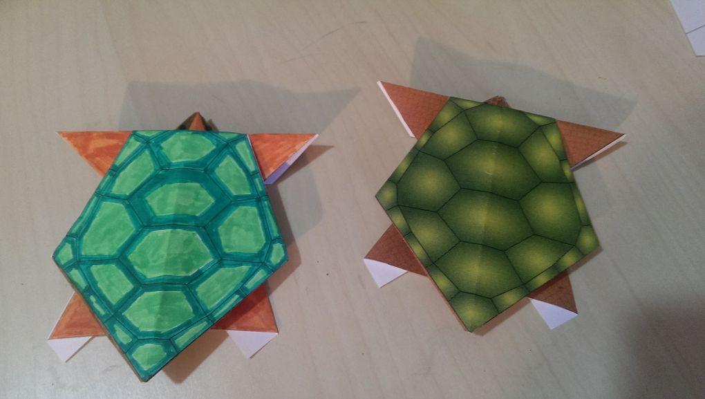 Lecture, jeu et origami
