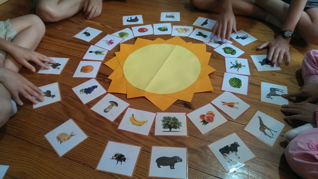 Le jeu du soleil
