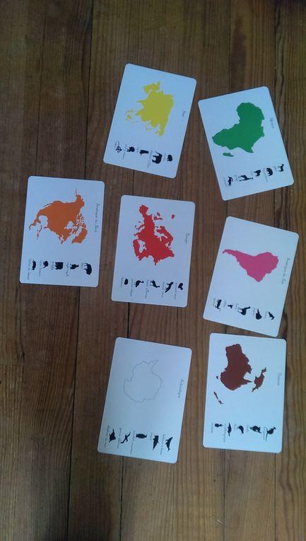 Animaux et continents