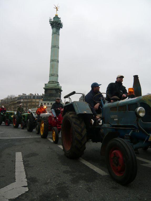 La traversée de Paris en anciennes
