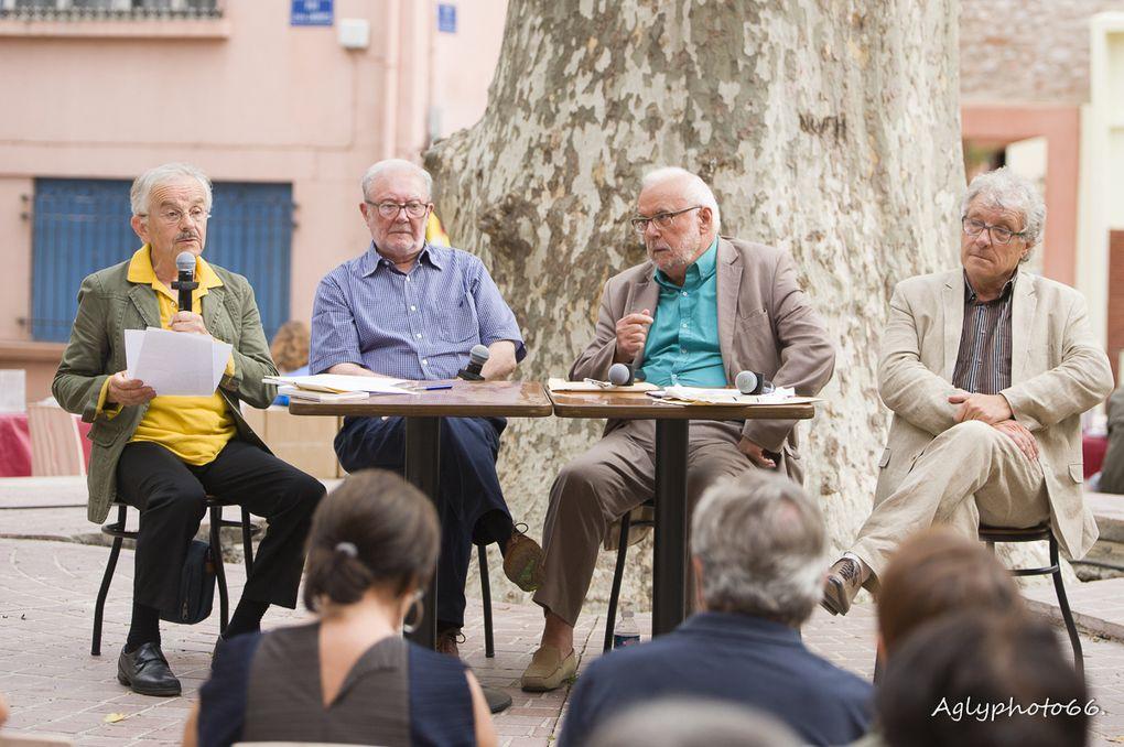 Jean-Louis Coste et Jacques Quéralt ainsi que plusieurs spectateurs évoquent avec Christian Di Scipio et Bernard Revel les multiples facettes de Claude Delmas.