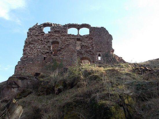 La baie à colonnette du Stein Oriental