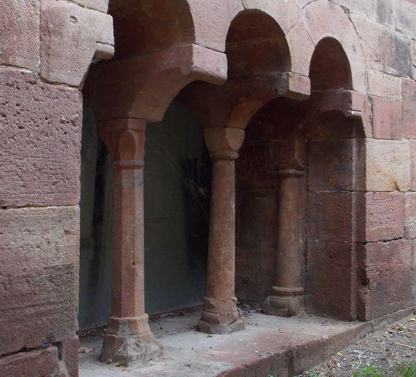 l'Abbatiale romane d'Andlau