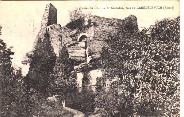 Guirbaden, cartes postales anciennes, collection PiP