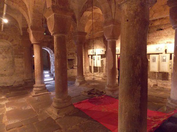 Chapelle Romane de l'abbatiale de Wssembourg