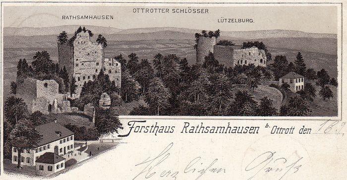Le Jardin Renaissance du château de Lutzelbourg