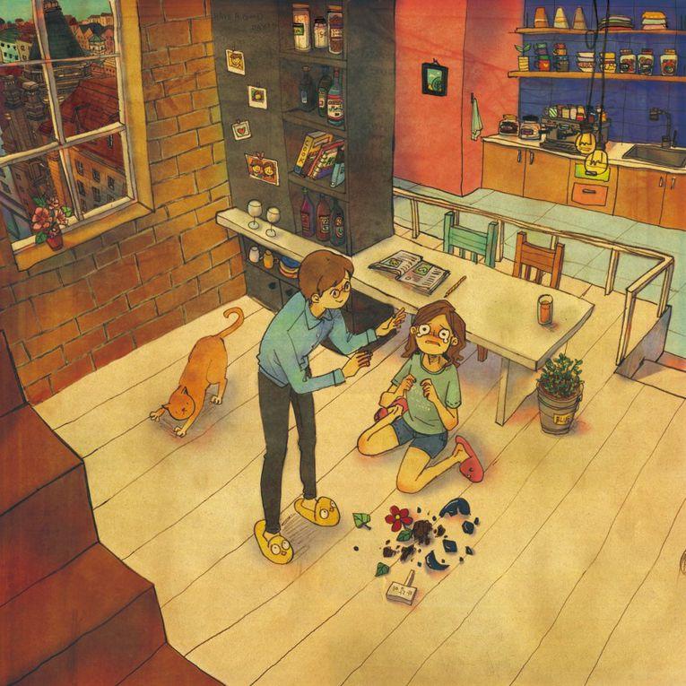 Illustrations :  << Love Is...>> de l'illustratrice coréenne Puuung