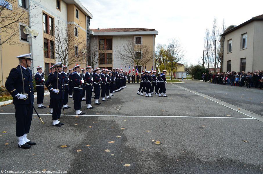 La garde d'honneur regagne son emplacement