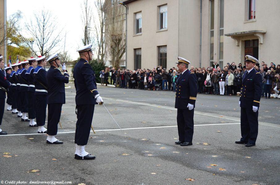 Présentation des Personnels aux Autorités Militaire