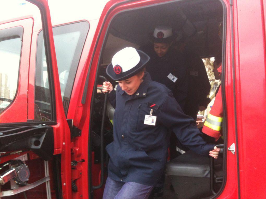 Caserne et installations des marins pompiers de la base navale