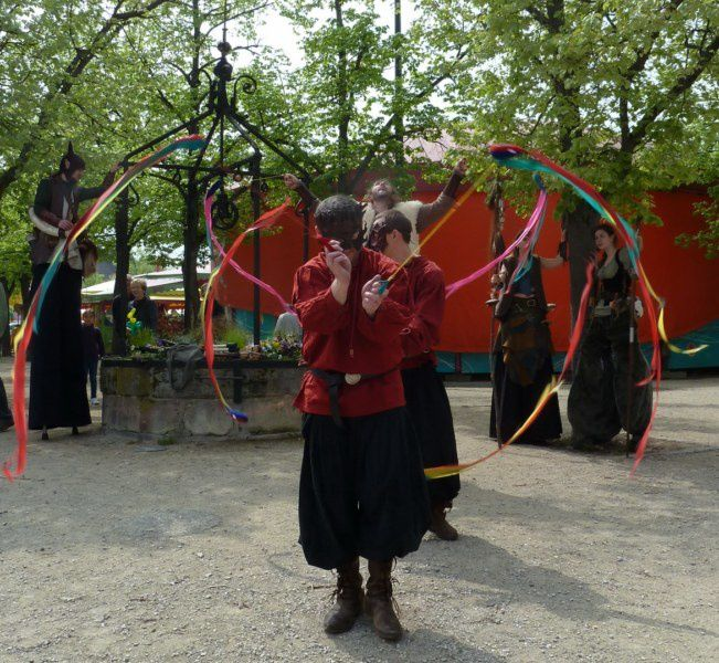 Festivités du 1er Mai à Neuf-Brisach