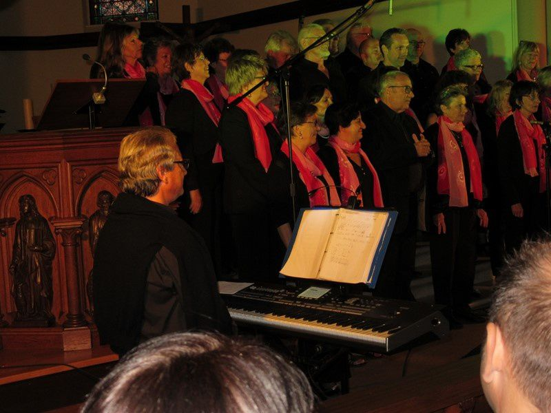 Concert à Horbourg-Wihr:  &quot&#x3B;Gospel's Rejoicing&quot&#x3B;