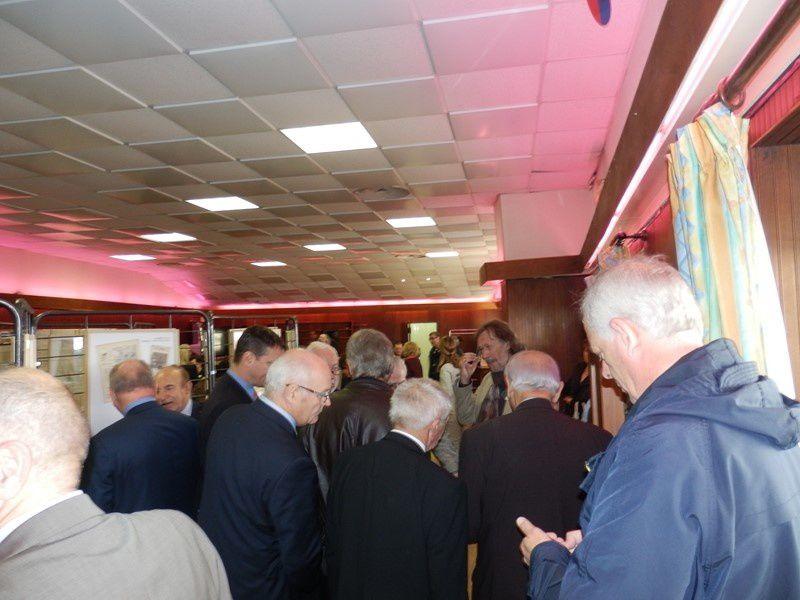 Inauguration de l' Exposition&quot&#x3B; Consenvoye dans le Centenaire&quot&#x3B;