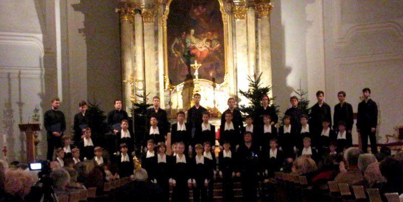 Neuf Brisach a accueilli le Chœur de Garçons de St Pétersbourg