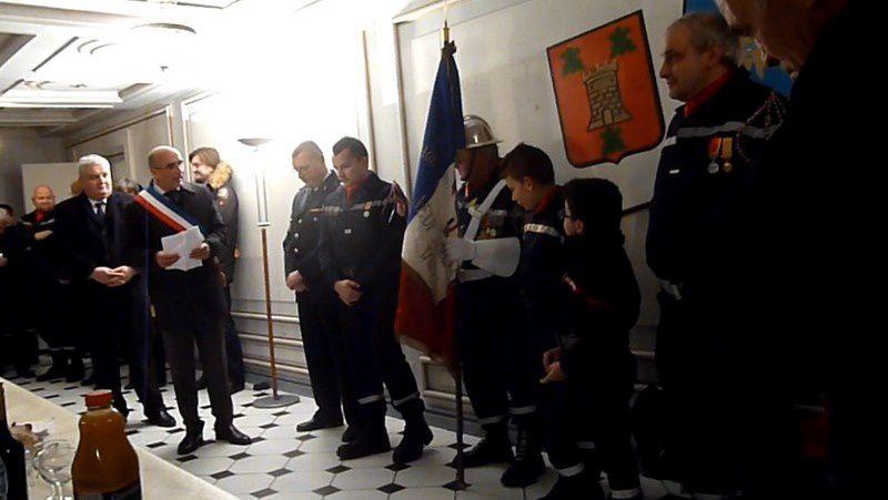 Ste Barbe avec les Pompiers de Neuf Brisach