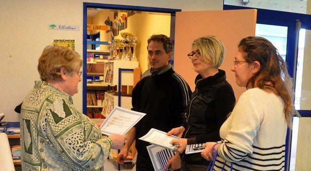 Diplômes de Solidarité pour l'Ecole Les Oliviers à Horbourg-Wihr