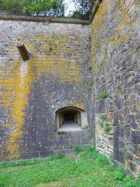 Dans les fortifications de Neuf-Brisach