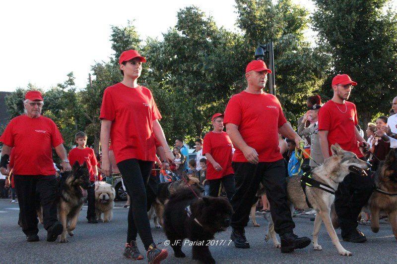 Quelques images du défilé