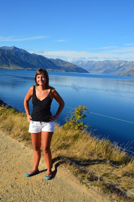 Lac Wanaka et lac Hawea... Magique !