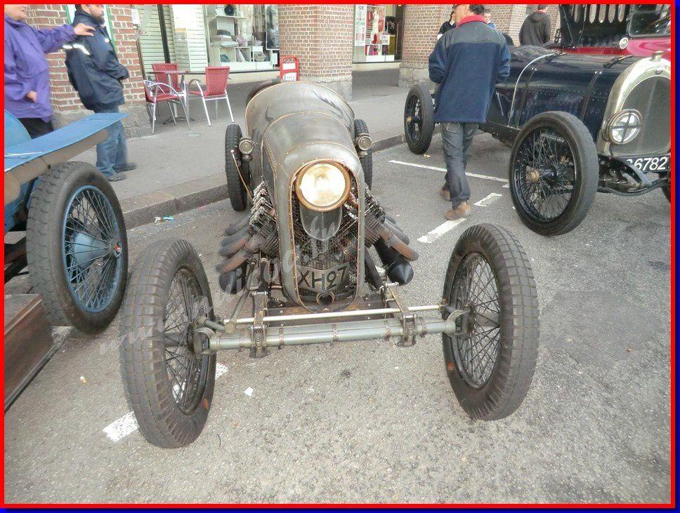 DIEPPE voitures de course 1900 Anglaises et Française