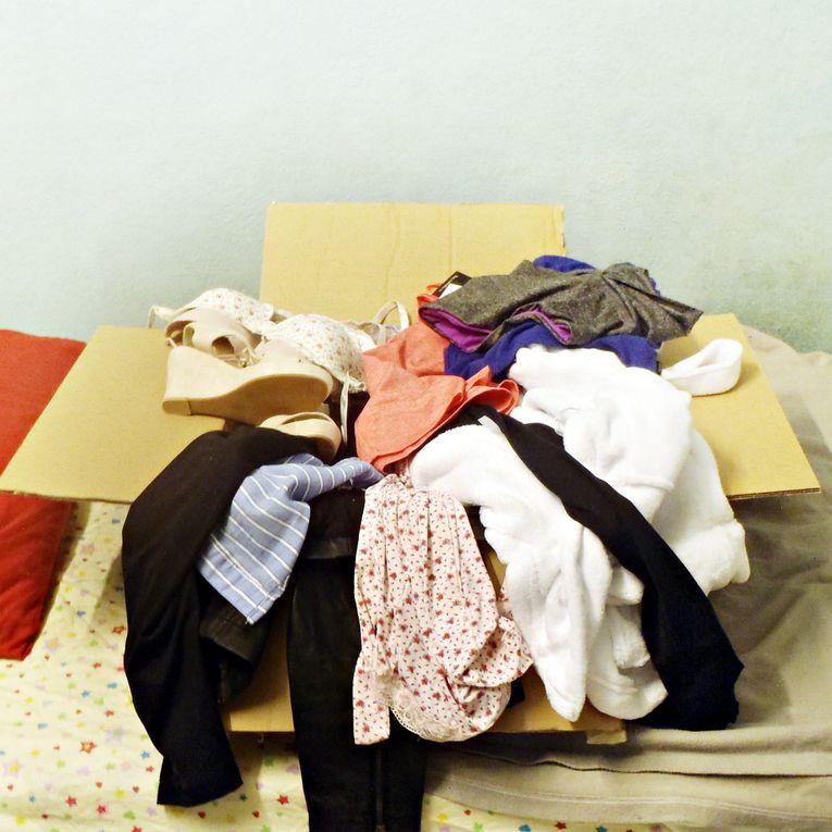 A big box of garments!