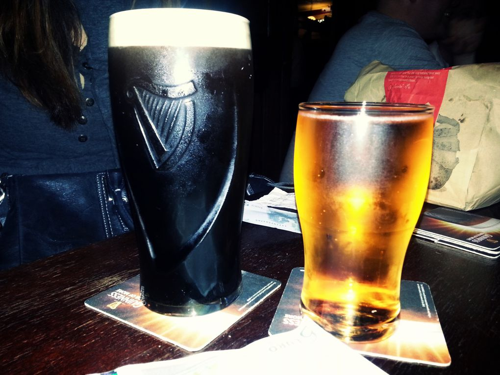 Guinness, Bulmer's & Hot Whiskey