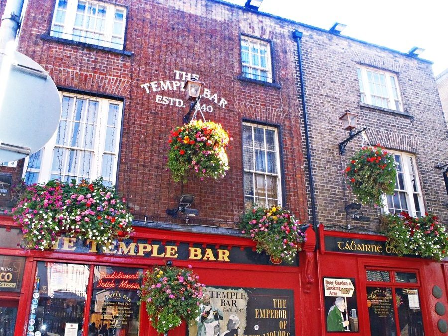 How Temple Bar got its name