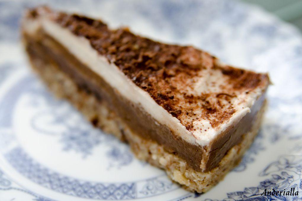 Bannofee pie (tarte à la banane et au caramel - RAW)