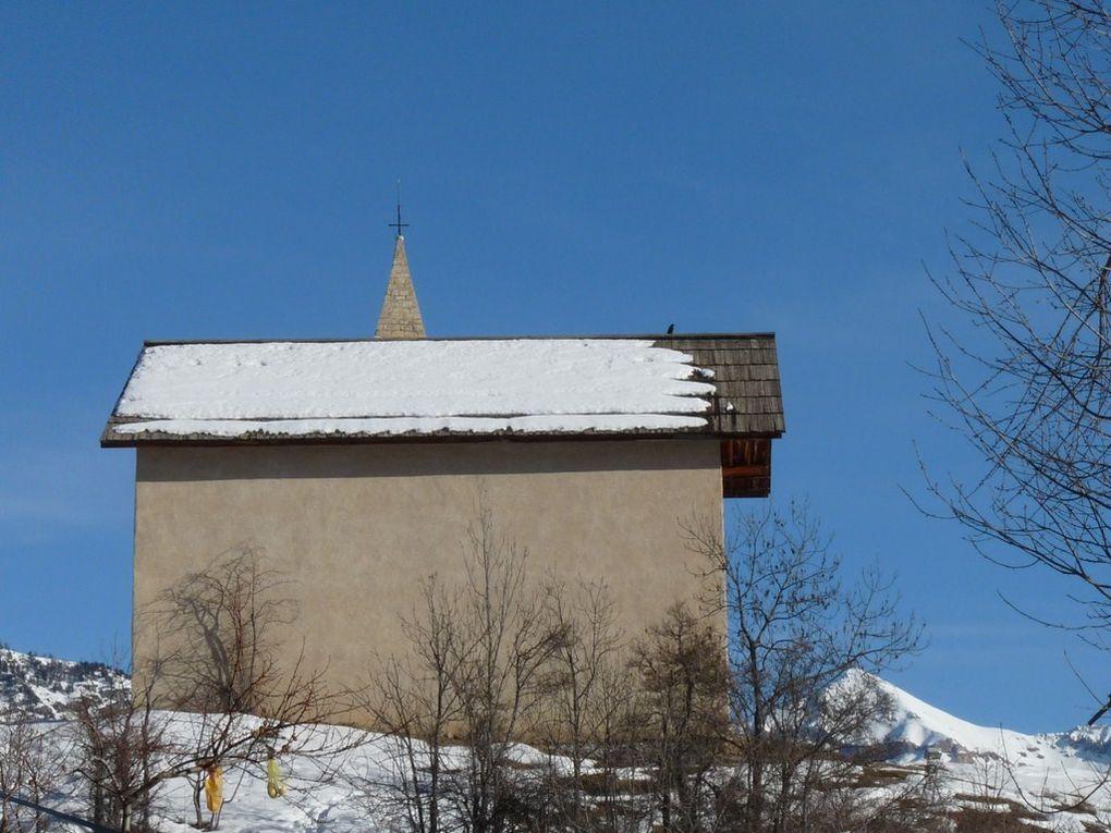 Puy Saint Vincent &#x3B;:: Les Chapelles et les églises