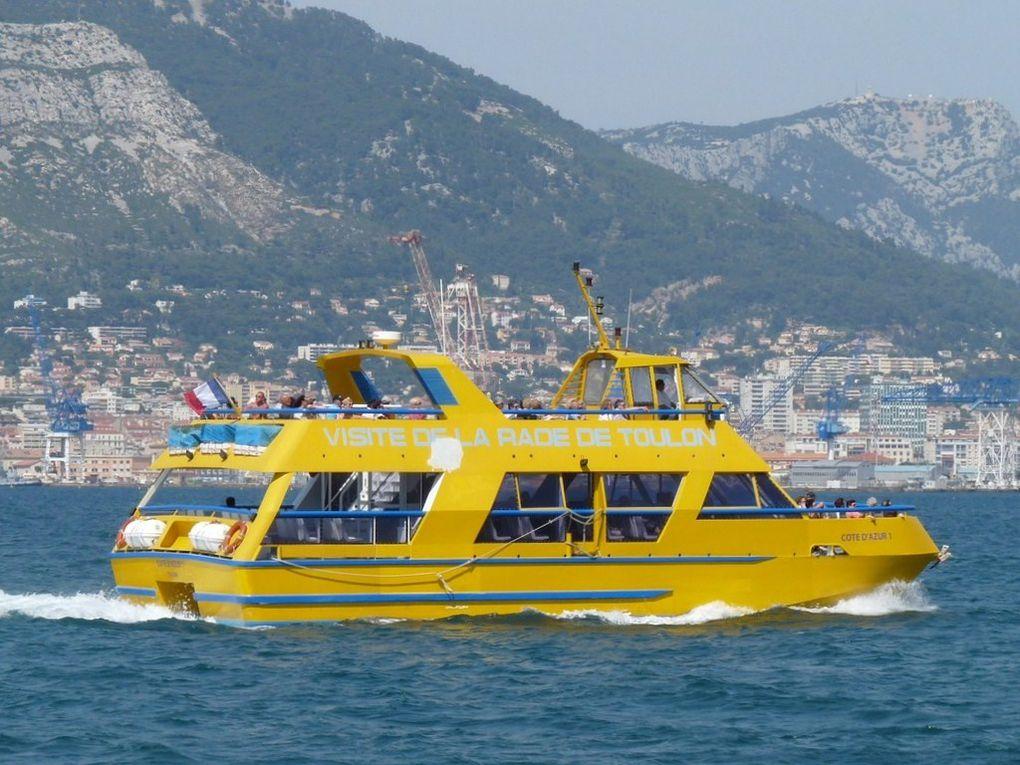 CÔTE D'AZUR 1, vedette à passagers pour la visite de la rade